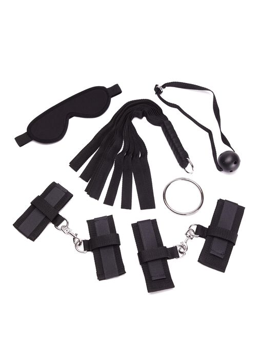 Ann Summers Black Beginners Bondage Set - Bondage Toys & more