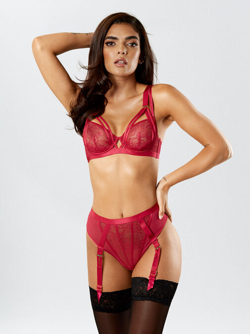Ann Summers The Lace Fantasy Non Padded Bra - 34dd - pink - Lingerie for Women