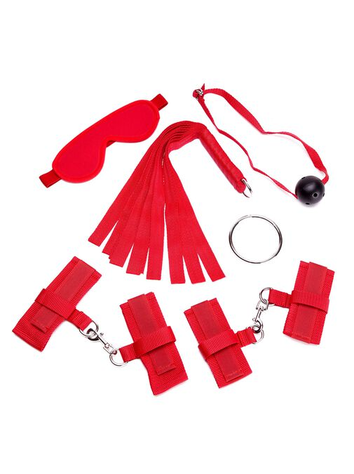 Ann Summers Red Beginners Bondage Set - Bondage Toys & more
